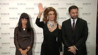 意大利女神Sophia Loren耍大牌 现场冷面拒访问 130423