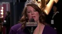 艾美奖获奖感言 喜剧类最佳女主角:梅丽莎·麦卡西