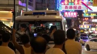 林文龙闹市演警察引围观 全程黑面一脸不耐烦 130831