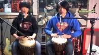 左轮非洲鼓教学NO.3《非洲鼓的基本演奏方法》非洲手鼓自学入门