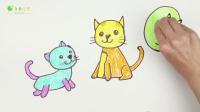 飞童亿佳创意绘画 02动物小猫