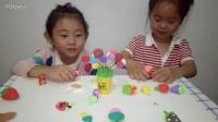 小猪佩奇买蔬菜糖果 创意手工橡皮泥视频 小伶食玩玩具