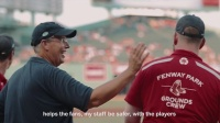 Schneider Electric & The Boston Red Sox - Taking the field