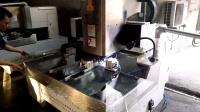 众度大方片玻璃双工位倒角圆角玻璃加工设备视频