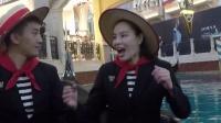 在吴敏霞夫妻的演唱下,意大利歌竟然这么好听!