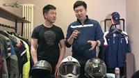 【小峰实验室】 之清洗头盔