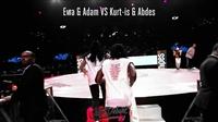 House dance battle 8进4 - Kurt-is & Abdes vs Ewa & Adam- Juste Debout 2018