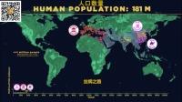 20万年地球上人类的迁移和人口攀升与期间的重大事件