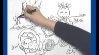 第98课自命题创作画 创意美术儿童画100课
