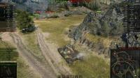 坦克世界-铁面游侠E-100 13杀翻盘