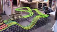 其他器材- K-nex 大型竞赛过山车making