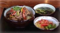 一分钟学会做韩式牛肉饭,五星级大厨亲示范
