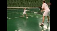 每天15分钟带孩子练习羽毛球-中级训练8