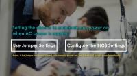 AC电源恢复后如何将设备设置为自动开机?