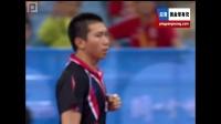 2008奥-运-会 男子团体铜牌 韩国vs奥地利 第四盘 柳承敏vs陈卫星 乒乓球比赛视频 剪辑