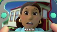 《优酷小学堂》火车脱轨了怎么办?关键时刻汪汪队协力修复铁轨