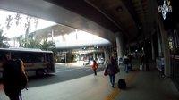 济州岛国际机场门口的市内公交