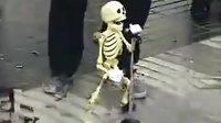街头经典搞笑 骨架也歌唱