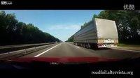 (高清)车霸路狂几时休-国外近编卡车车祸专辑
