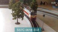 火车模型视频---7.3家中百万城中国机车,动车模型小运转