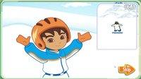 ❤爱探险的朵拉☂朵拉滑雪场玩滑雪2