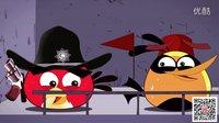 愤怒小鸟之行尸走肉版动画 第一季 05 天台危机