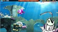【亲子游戏】海底总动员大鱼吃小鱼的早教游戏 宝宝认知海底世界鱼类
