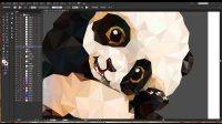 矢量绘制插画熊猫 Illustrator CC 2015  AI教程  平面设计