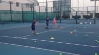 【6岁】8-20哈哈暑假网球训练,正手反手练习IMG_9132