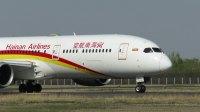 北京首都机场拍机—海航HU7782-B789[B-7880]起飞
