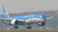 北京首都机场拍机—厦航MF8117-B789[B-1356/联合梦想号]降落