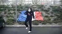 鬼步舞 法国面具男(这才是最清晰的)
