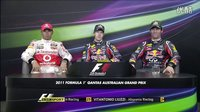 2011.F1澳大利亚站排位赛后新闻发布会【BBC】