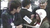 120110 AKB48上海握手会开场前广州粉丝采访