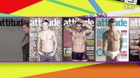 ATTITUDE 100 the World's Sexiest Men TOP 20 Countdown