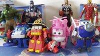 超级飞侠 变形警车珀利交通安全篇玩具 复仇者联盟2 儿童早教 奇趣蛋玩具视频 钢铁侠