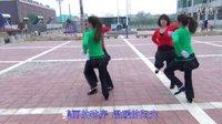 高岭中街广场舞《一路歌唱四人两对跳精典版》