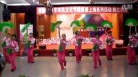 波老师指导《欢乐秧歌》*展演版(虹口北外滩文化中心舞蹈队16人)