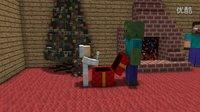 怪物学校 - 圣诞节礼物 - 我的世界Animation.mp4