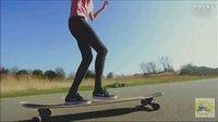 【视界爱运动】长腿软妹的滑板青春 酷炫长板技巧令人心醉神迷