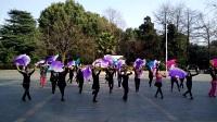 郴州彩虹舞蹈队集体大扇舞—心灵睡过的地方