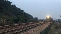 机车 51076次 ND50070 HXN50284 HXN50292 通过宣杭线K189KM北窑坞附近