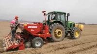 马铃薯播种机 GL 410,播种+喷药+施肥+起垄成型一体机 (1)