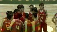 2017年女篮亚洲杯小组赛:中国vs朝鲜(英语解说)