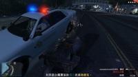 GTA5】线上模式:神奇跳台车,教你做人。坐黑+土科技车,射对方满脸子弹。
