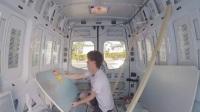 DIY 房车改装过程 奔驰斯宾特(4)隔热+地板