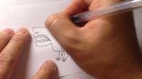 学画简笔画.卡通恐龙