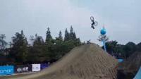 国外大神山地自行车在中国 成都土坡赛MTB