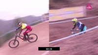 Alexandre Fayolle / 江胜山 Side by Side  - 2017时代地产泉林亚洲DH邀请赛 速降精英组决赛