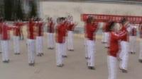 白影市平川区靖煤集团退休职工春常在合唱团二月二龙抬头爱心义演西班牙斗牛士舞蹈